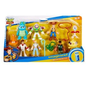 Imaginext Toy Story 4 Deluxe Character Set NEW